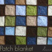 Patch Mini-Blanket ~ Lanas de Ana