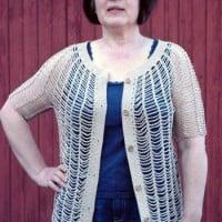 Sunny Days Chain Cardigan ~ ABC Knitting Patterns