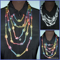 Puff Stitch Necklace in 3 Lengths ~ Jessie At Home