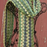 Belle Epoque Scarf ~ ABC Knitting Patterns