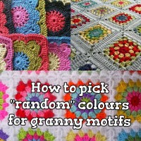 "How to Pick ""Random"" colours for Granny Motifs ~ The Anarchist Knitter"