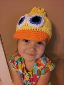Duck Hat ~ Stitch11