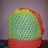 Drawstring Beach Bag ~ Stitch11