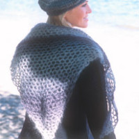 DROPS shawl in Vivaldi ~ DROPS Design