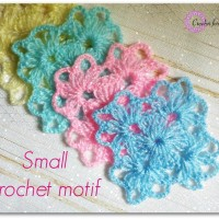 Small Crochet Motif ~ Erangi Udeshika - Crochet For You