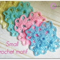 Small Crochet Motif ~ Erangi Udeshika – Crochet For You