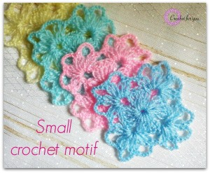 Small Crochet Motif ~ Erangi Udeshika - Crochet For You