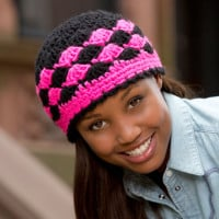 Shells are Swell Beanie ~ Kathering Eng - Red Heart
