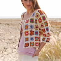 Summer Patchwork ~ DROPS Design
