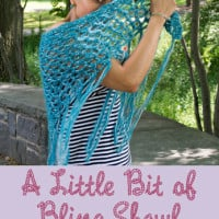 A Little Bit of Bling Shawl ~ Marie Segares – Underground Crafter