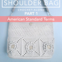 Wildflower Shoulder Bag CAL Part 1 ~ Rebecca Langford – Little Monkeys Crochet