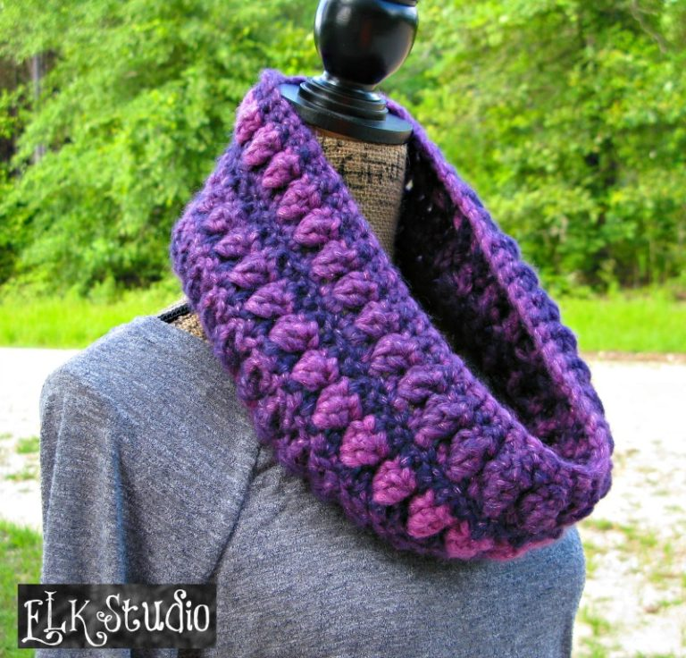 Free Crochet Patterns For Bulky Yarn : Bulky Yarn Cowl ~ FREE Crochet Pattern