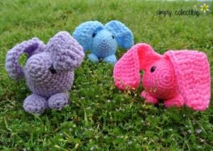 Baby Bunny Amigurumi ~ Celina Lane - Simply Collectible