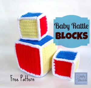 Baby Rattle Blocks ~ Celina Lane - Simply Collectible