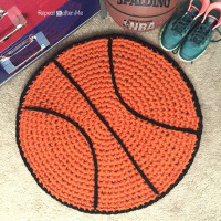 Baseball Rug ~ Repeat Crafter Me