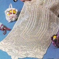 Breath of Spring Runner ~ MomsLoveOfCrochet