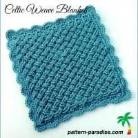 Celtic Weave Blanket ~ Pattern Paradise