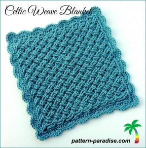 Celtic Weave Blanket ~ Pattern Paradise