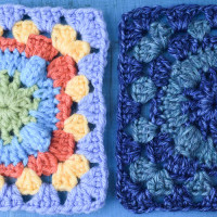 Circle with Popcorn Granny Square ~ Marie Segares – Underground Crafter