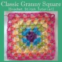 Classic Granny Square ~ Oui Crochet