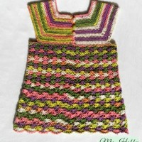 Crochet Top Iris, Child-Size - 3-5 Years ~ My Hobby is Crochet