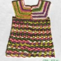 Crochet Top Iris, Child-Size – 3-5 Years ~ My Hobby is Crochet