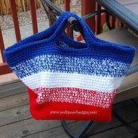 Big Striped Bag ~ Sara Sach – Posh Pooch Designs