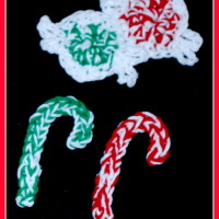 Christmas Candy Applique ~ Sara Sach - Posh Pooch Designs