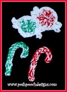 Christmas Candy Applique ~ Sara Sach - Posh Pooch Designs