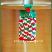 Christmas Candy Dish Towel ~ Sara Sach - Posh Pooch Designs