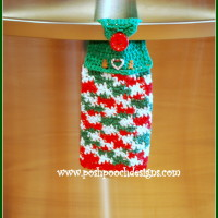 Christmas Candy Dish Towel ~ Sara Sach – Posh Pooch Designs