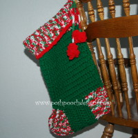Big Christmas Stocking ~ Sara Sach - Posh Pooch Designs