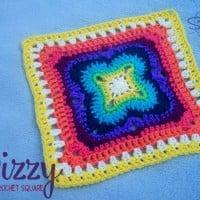 Dizzy 12 Inch Square ~ Stitch11