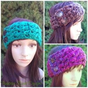 Effortless Chic Headband ~ Beatrice Ryan Designs