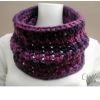 Chunky Crochet Cowl ~ Lorene Eppolite – Cre8tion Crochet