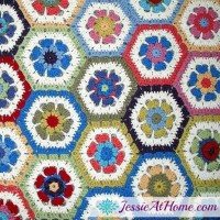 Flower Hexagon Granny How-To ~ Jessie At Home