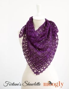 Fortune's Shawlette ~ Moogly