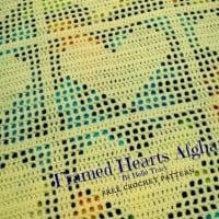 Framed Hearts Afghan ~ Crochet Treasures
