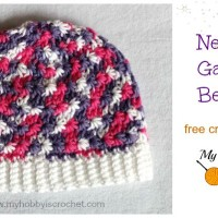 Newborn Galaxy Beanie ~ My Hobby is Crochet