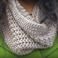 Eggnog Cowl ~ Little Monkeys Crochet – Stitch & Unwind