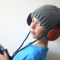 Headphones Hat ~ Repeat Crafter Me
