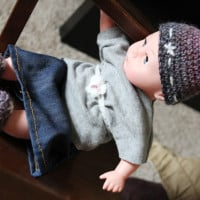 Pixie Doll Hat and Slippers ~ Bethsco