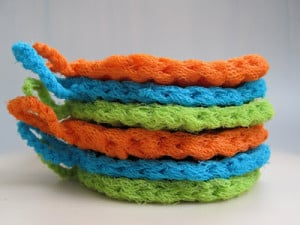 Micawber Scrubbies ~ Mr. Micawber's Recipe for Happiness
