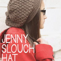 The Jenny Slouch Hat ~ Rebecca Langford - Little Monkeys Crochet