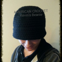 Kevin's Beanie ~ American Crochet