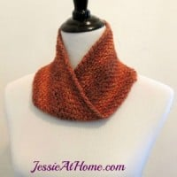 Linen Stitch Mobius Cowl ~ Jessie At Home