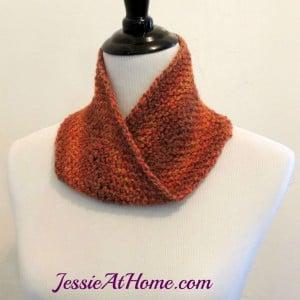 Linen Stitch Mobius Cowl ~ Jessie At Home
