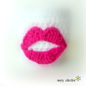 Perfect Lips Applique ~ Celina Lane - Simply Collectible