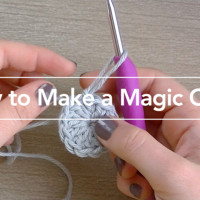 How to Crochet a Magic Circle ~ Rebecca Langford - Little Monkeys Crochet