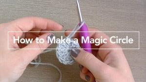 How to Crochet a Magic Circle ~ Rebecca Langford - Little Monkeys Crochet